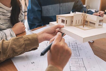 設計士と一緒に描く自由デザインの家
